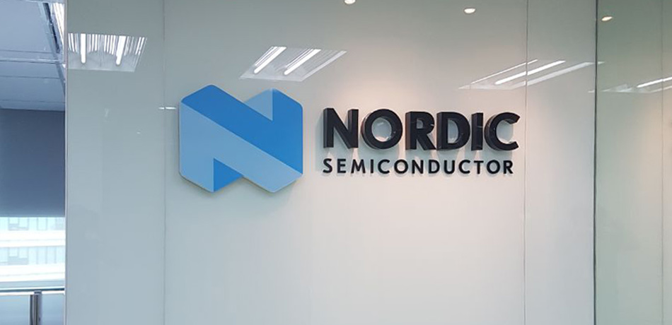 Nordic Semiconductor Sign